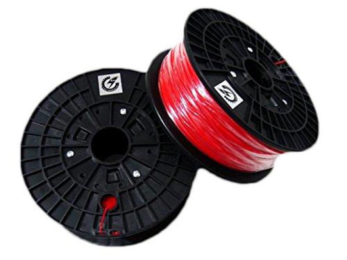 Impresora 3D Cloud Pla Filament para Impresora 3D Rojo