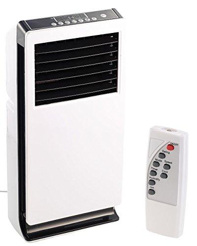 Sichler Haushaltsgeräte Kühllüfter: Design-Verdunstungs-Luftkühler mit Ionisator LW-440, 65 Watt (Mobile Klimageräte)