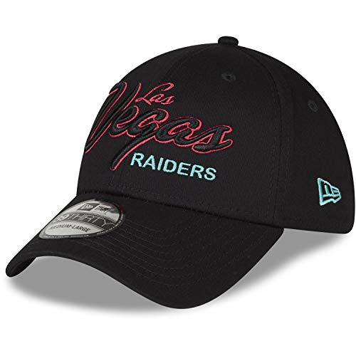 New Era 39Thirty Stretch Cap - NEON Las Vegas Raiders - M/L