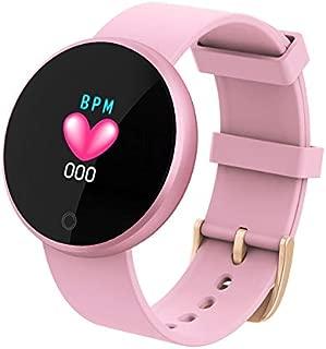 TOOGOO Smart Ladies Watches Fashion Smart Watch Women Calories Heart Rate Watch Beauty Digital Wristwatch B36 Pink