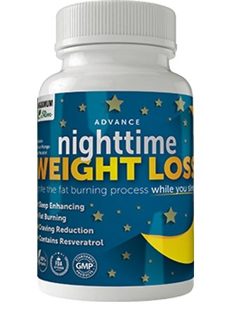 Maximum Slim Advanced Nighttime (Fat Burning) Weight Loss with African Mango, Green Tea, Resveratrol, and Maqui Berry,Will Help You Lose Weight While Sleeping and Maintain Sleep