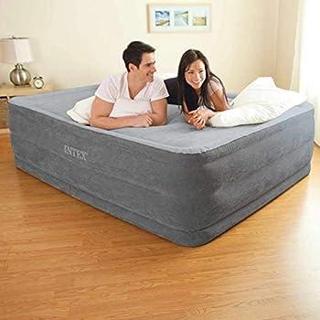 INTEX Queen DURA-Beam Series Lit Gonflable Comfort Plush 2 Personnes, 64418NP