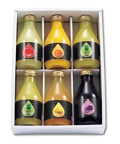 銀座千疋屋 銀座ストレートジュースA PGS-128【瓶入 果物 くだもの 果汁 高級 ブランド 老舗 蜜柑 葡萄 リンゴ 林檎 】