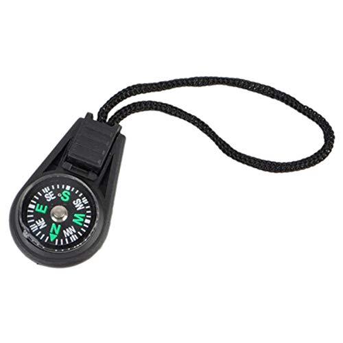 MICSTRO Mini-Kompass für Outdoor, Camping, Wandern, Tasche, Rucksack, Schlüsselanhänger oder als Dekoration