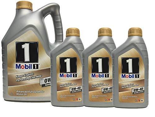 Mobil Motor Trisintetico Oil 1 fs 0W-40, Packung 8 Liter