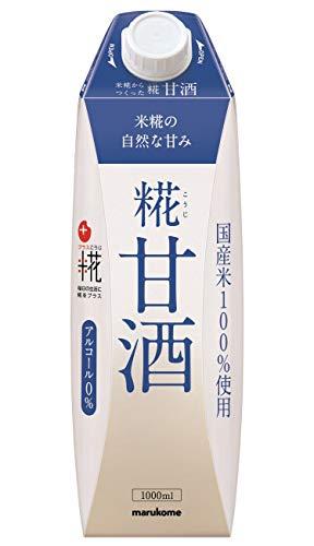 マルコメ プラス糀 米糀からつくった甘酒 LL 1L