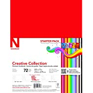 Wausau Creative Collection Classics Specialty Cardstock Starter Kit, 8.5 X 11 Inches, 72 Count Assortment (46407-02)