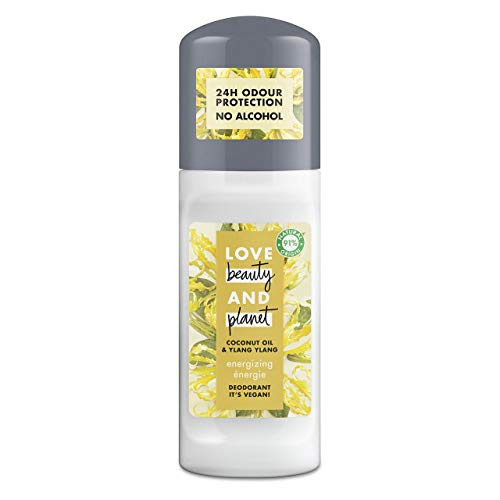 Love Beauty and Planet - Desodorante aceite de coco y de ylang ylang Energizing - 50 ml