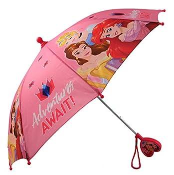 Disney Girls  Little Assorted Character Rainwear Umbrella Princess Age 3-6