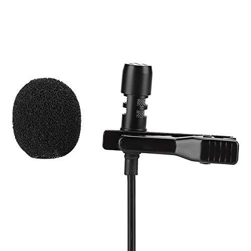 Condensatormicrofoon met Type-C-interface, kraagklemmicrofoon met ruisonderdrukkingsfunctie, microfoon voor interviewopname, karaokemicrofoon voor mobiele telefoon/computer