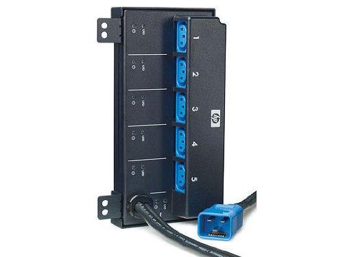 HP Intelligent Extension Bar G2 - Uitbreidingsmodule voor stroomverdelingseenheid (rek - geschikt voor inbouw) - 5 uitgangsstekkers (verpakking van 2) - voor ProLiant DL320e Gen8, DL360e Gen8, DL380p Gen8, ML310e Gen8, ML350e Gen8, SL230s Gen8