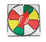 Prize Wheel 12 inch Color Face Table Top Dry Erase Spinner Game