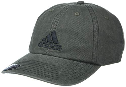 adidas Men's Ultimate Relaxed Adjustable Cap, Legend Earth Green/Black, ONE SIZE