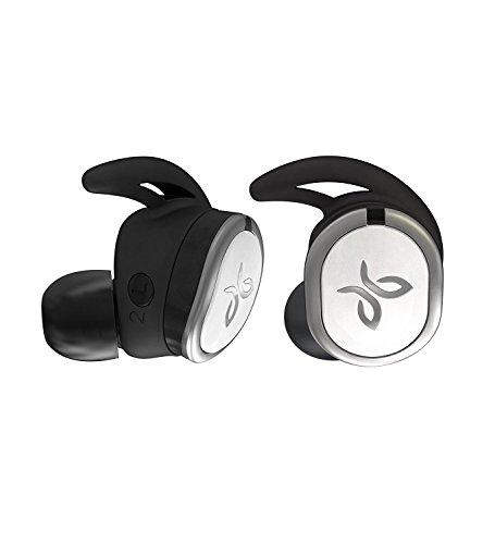 Jaybird Run Kabellose In-Ear Kopfhörer, Bluetooth, Schweißbeständig & Wasserdicht, 12-Stunden Akkulaufzeit, Sport-Fit, Smartphone/Tablet/iOS/Android - Drift, Schwarz/Weiß