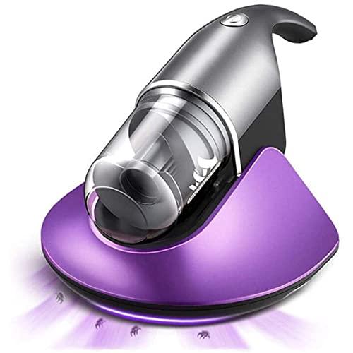 CYGG Mini aspiradora Elimina los ácaros en la Cama, el Instrumento de eliminación de los ácaros del sofá, el deshumidificador de Aire Caliente Puede Absorber el Cabello de los Juguetes de Peluche
