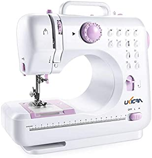 UKICRA Sewing Machine UFR-505 - Electric Portable Sewing Machines, 12 Stitches, Perfect for Beginners