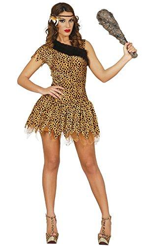 Steinzeit Leoparden Kostüm für Damen Gr. S-L, Größe:S