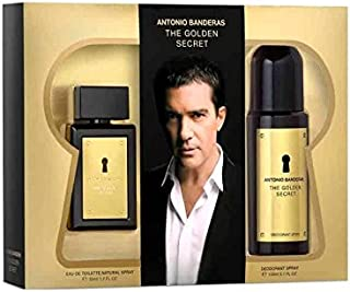 THE GOLDEN SECRET ANTONIO BANDERAS EDT 200 ML + AFTER SHAVER 100 ML