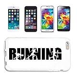 Reifen-Markt Funda para teléfono móvil compatible con iPhone 5C, para correr, correr, maratón, triatlón, funda protectora