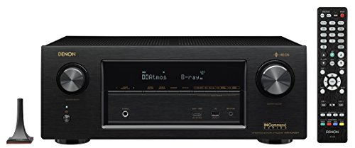 Denon AVR-X3500H 7.2CH 4K Ultra HD AV Receiver with Built-in HEOS Wireless Multi-Room Audio Technology and Alexa Voice Control