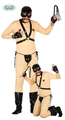Bondage Sex Sklaven Kostüm zum Junggesellenabschied Gr. M - L, Größe:L