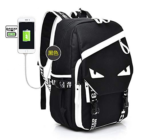 GDMXYD Travel Laptop Backpack,15.6-17.3 Inch Business Laptop Backpack with USB Charging Port and Lock, Slim Water Resistant Bag, Laptop Rucksack Bag for Women/Girls/Business/Travel