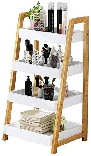 Opslagruimte Ladder Boekenplank Industriële Boekenkast Eenheid met Metalen Frame voor Woonkamer Slaapkamer Kantoor