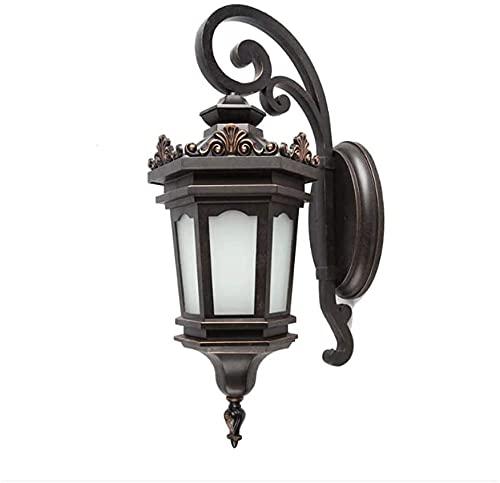 Raelf Clásico al revés iluminación accesorio estilo europeo al aire libre luz de pared palacio antiguo tallado zócalo retron iluminación industrial amp escono lámpara luz lámpara accesorio corredor