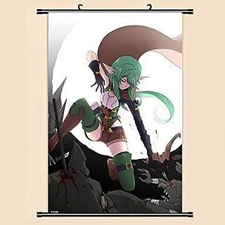 mgrlhm Anime Manga Desplazamiento Pintura Pared Desplazamiento Pintura 40x60 Imagen Papel Tapiz Adhesivo Cartel 40x60cm 21