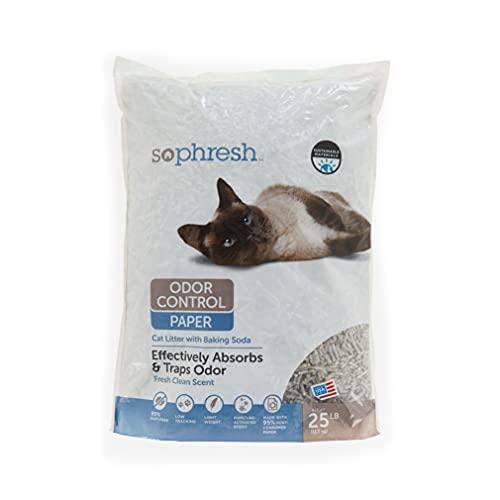 Petco Brand - So Phresh Odor Control Paper Pellet Cat Litter, 25 lbs.