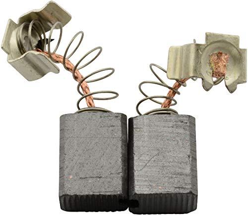 Escobillas de Carbón para BLACK & DECKER KD990 taladro - 6x9x11.3mm