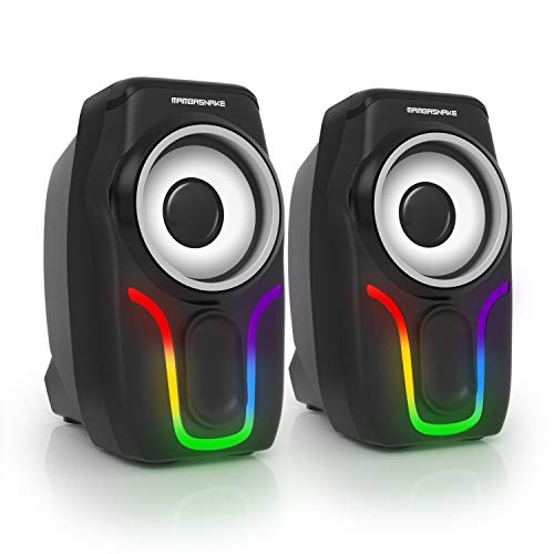 Computer Speakers,2.0 Stereo Volume…
