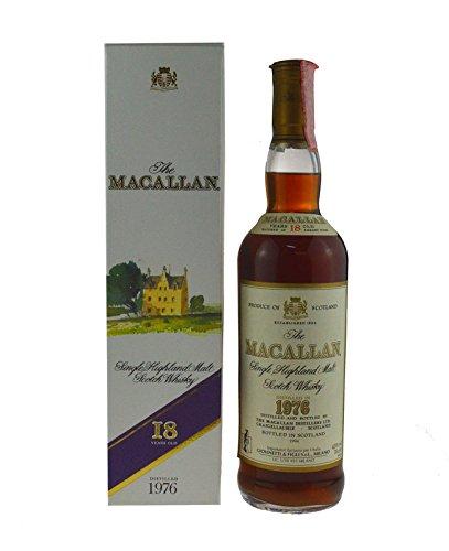 1976 Macallan 18 years