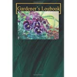 Gardener's Logbook: Pansies in Nature Gardening lover's note and log book with over 100 pages