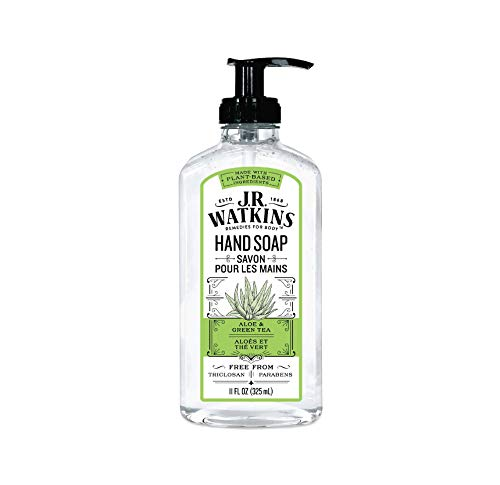 (36% OFF) J.R. Watkins Liquid Hand Soap Aloe & Green Tea $3.99 Deal