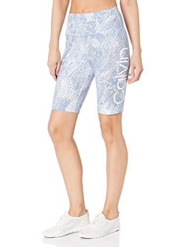 Calvin Klein Damen High Waist Bike Yoga-Shorts, Multi, Groß