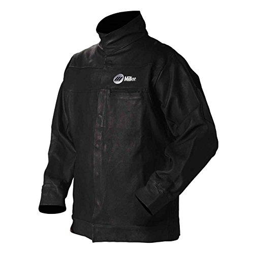 Jacket, Black, Pigskin Leather, Large