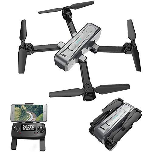 WECDS-E GPS RC Drone con Fotocamera 2K HD 5G WiFi FPV Drone Follow Me Quadcopter Pieghevole per Mantenimento in altitudine per Adulti