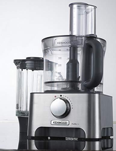 Kenwood FDM790BA Multipro Classic Robot Noir, Gris 3 L, 1000 W