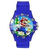 Reloj de Cuarzo Azul Silicona Round Moustache Plumber E2
