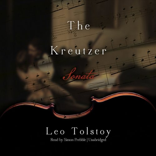 The Kreutzer Sonata audiobook cover art