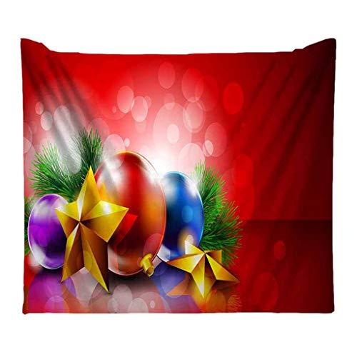 powerFul-LOT Christmas Decoration FestivalHome Decor,Christmas Tapestry Santa Print Wall Hanging150x200cm Tapestry ArtFaishon Room Scenery