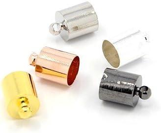 Max 56% OFF Wholesale Brass End Caps Mixed-Colour Barrel 20 8 Max 58% OFF Packs x 12mm o