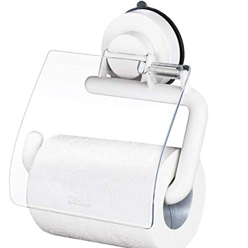 Toilet Paper Holder, Toilet Paper Holder, Bathroom and Kitchen Wall Mounted Vacuum Lock