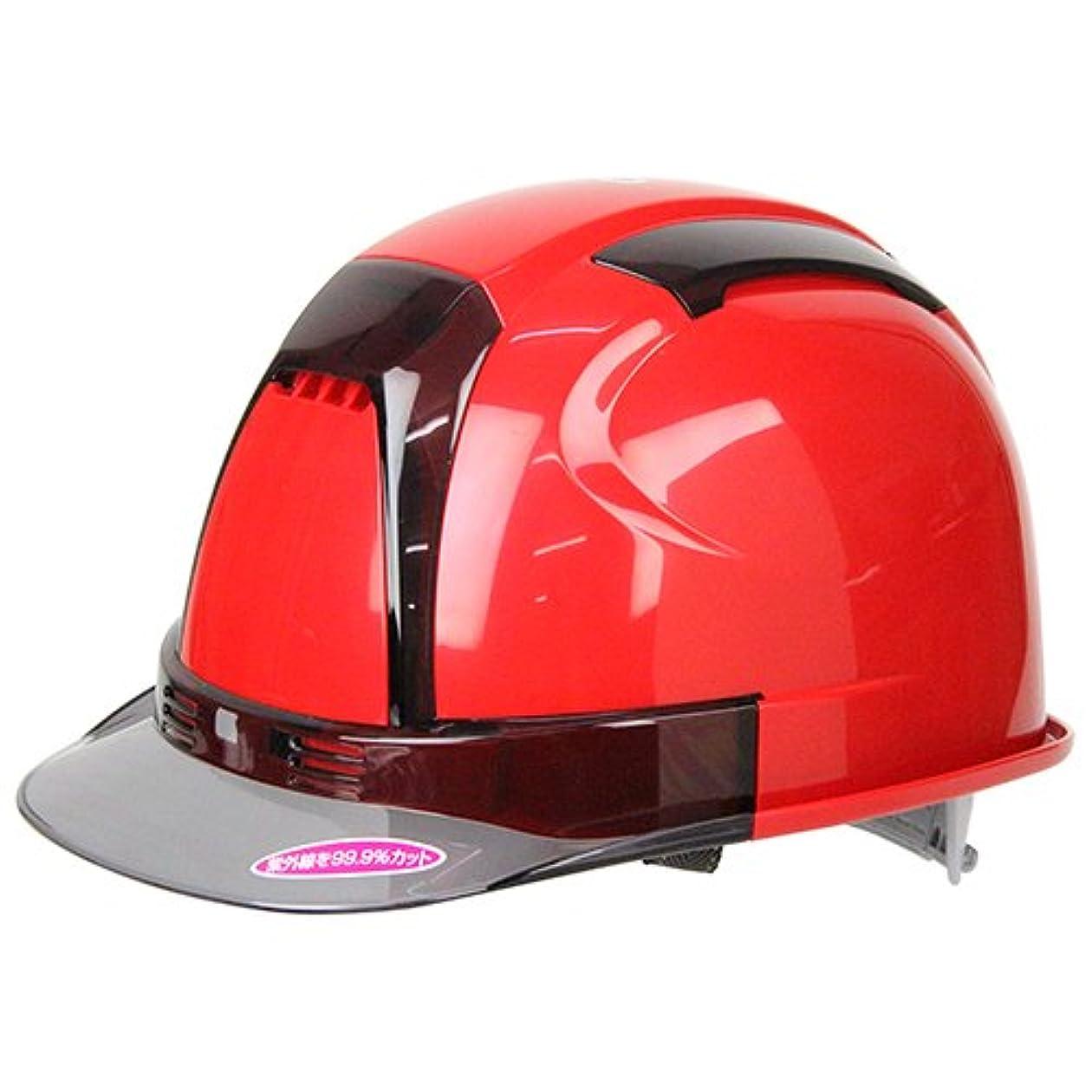 超えるディレイアノイTOYO 通気孔付きヘルメット ヴェンティー Venti No.390F-OTSS 赤 高機能