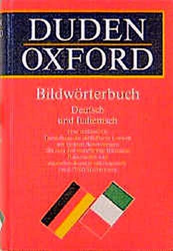 Duden-Oxford - Bildwörterbuch Deutsch und Italienisch
