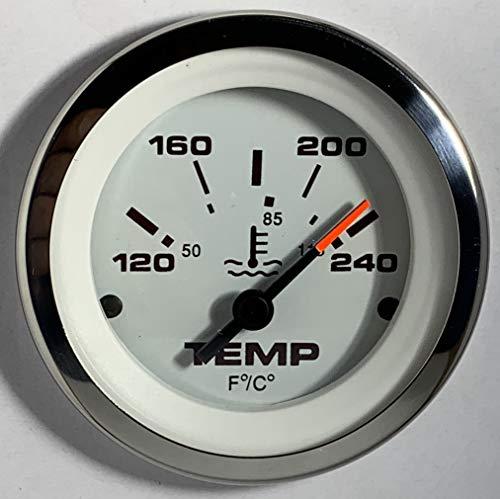 Veethree LIDO Water Temperature Gauge Marine + temperature sender unit