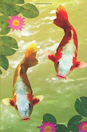 Japanese Koi Fish 2020 Daily Planner: Compact and Convenient 2020 Daily Planner