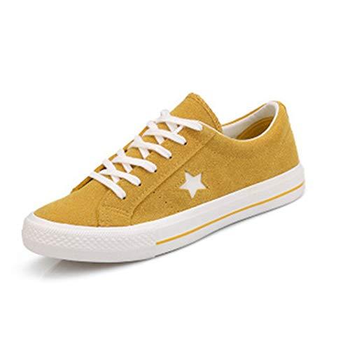 Dames Canvas Sneakers Casual Platform Schoenen Lente en Herfst Dames Comfortabele Ademende Antislip Platte Sneakers Student Schoenen Wilde Schoenen