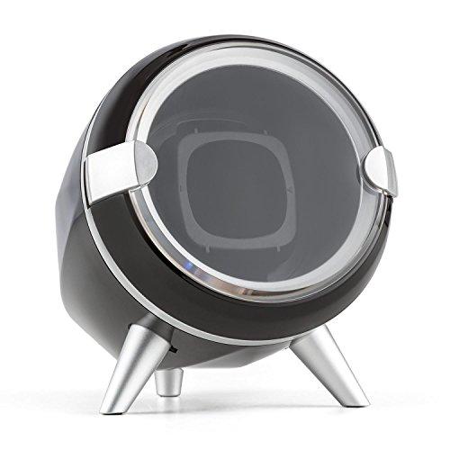 Klarstein Sindelfingen Uhrenbeweger, für 1 x Automatikuhr, 4 Bewegungs-Modi, Sichtfenster, schwarz